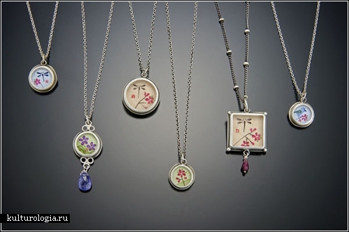 Ювелирные украшения с философией азиатского символизма. Автор Ананда Халса (Ananda Khalsa)