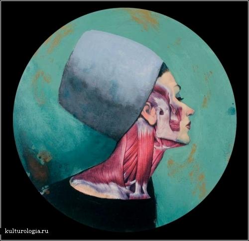 Анатомические потреты испанского художника Фернандо Винсенте (Fernando Vicente)