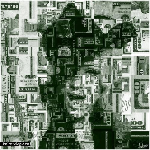 Мозаика-коллаж из чего угодно. Автор - Антонио (village9991)