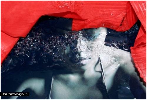 Целебная сила воды в фотопроекте Aquatherapy. Автор - Натали Морот (Nathalie Mourot)