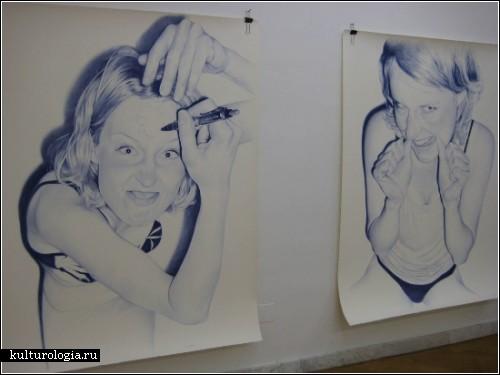 Фотореализм. Рисунки Хуана Франсиско Касаса (Juan Francisco Casas)