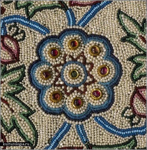 Ковер Baroda из жемчуга и драгоценных камней