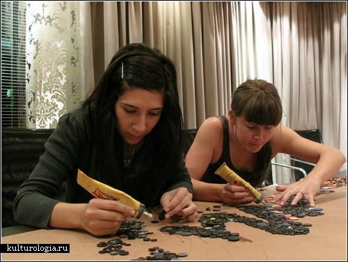 Пуговичный креатив от Джоанны (Jo) и Энджи (Angie)