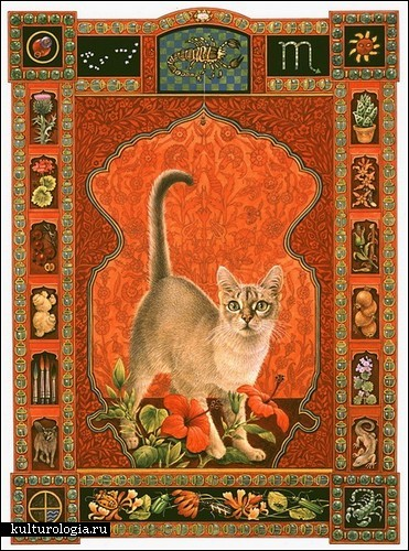 Кошачьи портреты в исполнении художницы Лесли Энн Ивори (Lesley Ann Ivory)