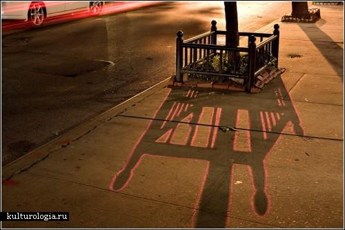Майкл Нефф (Michael Neff) - художник, что рисует тень