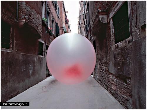 Улицы Венеции в жевательной резинке. Проект Симона Декера