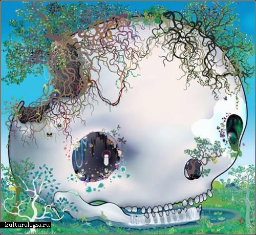 Необычная компьютерная живопись Чио Аошимы (Chiho Aoshima)