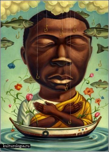 Картины, балансирующие на грани добра и зла. Автор Крис Бьюзелли (Chris Buzelli)