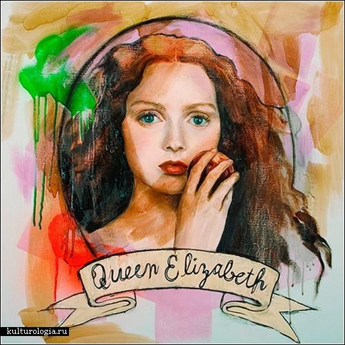 современная живопись портрет: