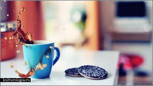 Фотопроект Cookie splash! от любителей разбрызгивать утренний кофе