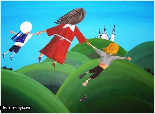 Наивное искусство Дмитрия Бухрова