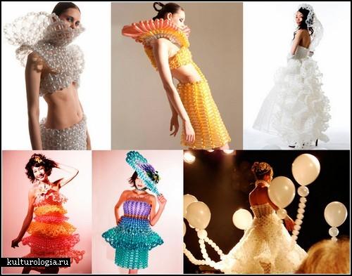 Креативные платья из воздушных шариков от Daisy Balloon