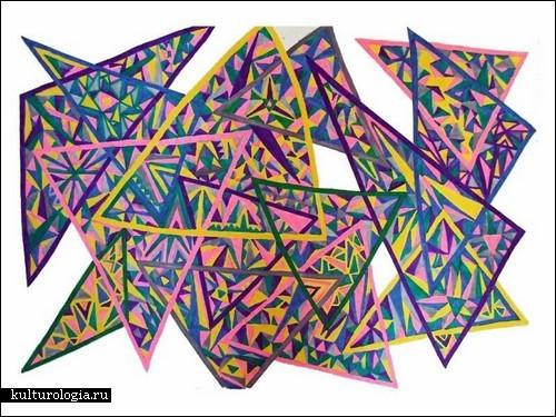 Абстрактная живопись Элизабет Урабе (Elizabeth Urabe)