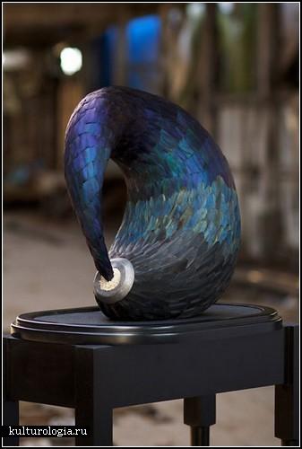 Скульптуры из перьев