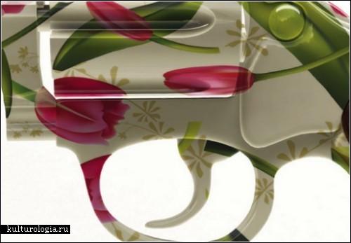 Арт-проект *Flower power*. Сила цветов против силы оружия