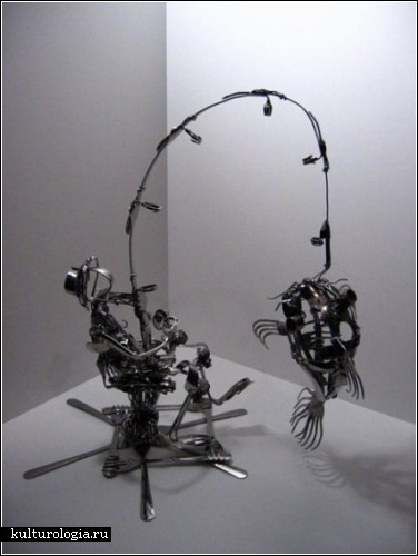 *Вилочные* скульптуры Мэтью Бартика (Matthew Bartik)