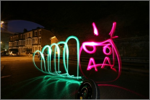 Световое граффити. Lightwriting