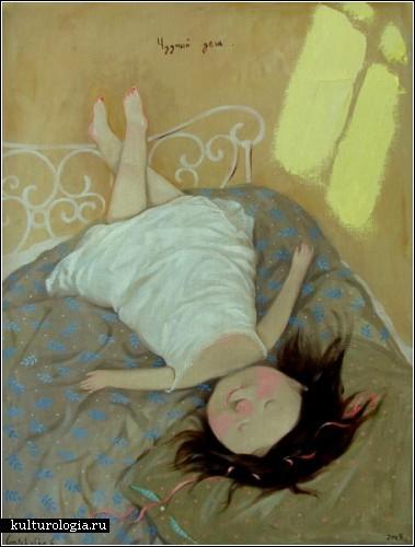 Позитивные ангелочки Евгении Гапчинской. Картины от *поставщика счастья №1*