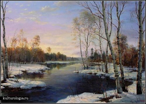 Живопись на стекле. Автор - Эльза Колесникова