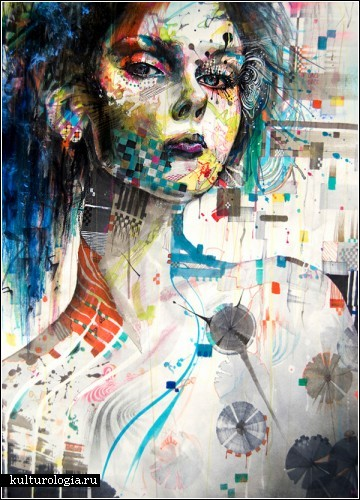 Необычные портреты корейского художника Greno89