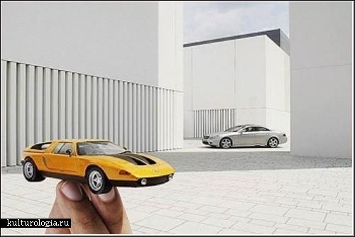 Автомобильный арт-проект Гулливера Теи (Guliver Theis)