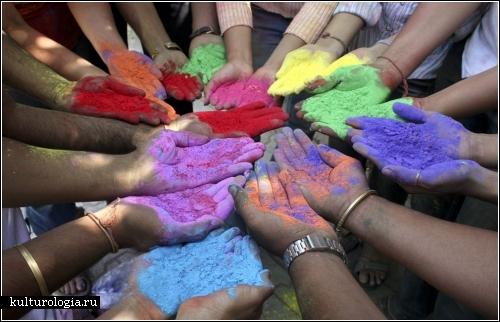 Фестиваль красок в Индии (Holi, the Festival of Colors)