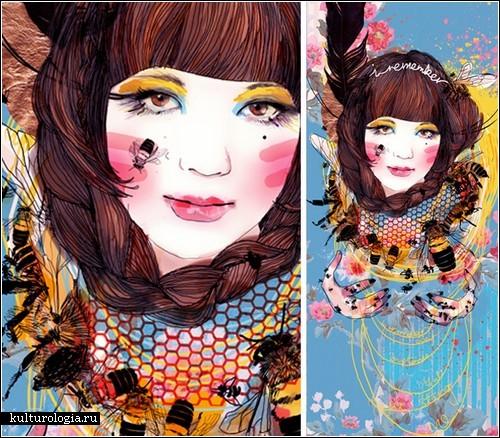 Живопись австралийской художницы Джессики Син (Jessica Singh)