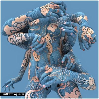 Человеческое тело - уже произведение искусства