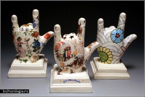 Расписная керамика Джулии Мун (Julie Moon)
