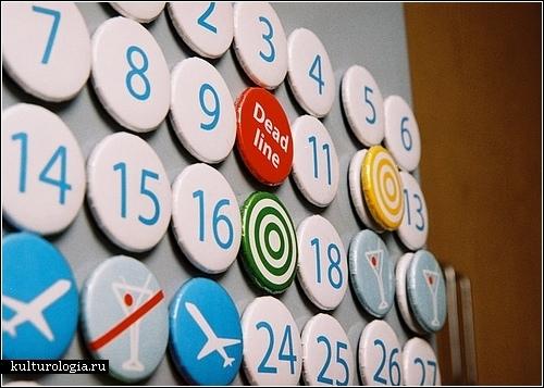 Вечные календарь своими руками