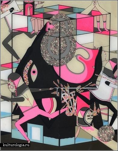 Пестрый психоделический арт австралийского художника Kill Pixie (он же Mark Whalen)