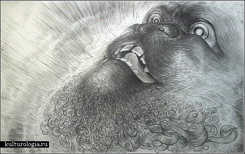 Рисунки ручкой и простым карандашом художника Ли Мисенхеймера (Lee Misenheimer)