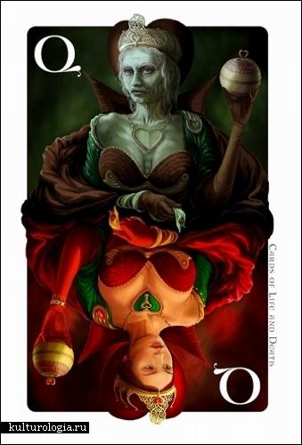 Колода из Life & Death Cards от Корнелла Равадитца (Kornell Ravadits)