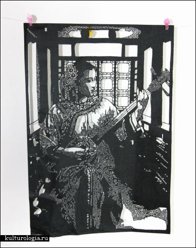 Бумажное искусство от Papercutdiecut