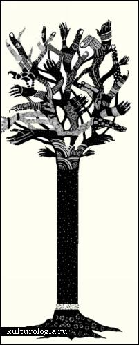 Фантазии Лидии Ортиз (Lydia Ortiz). Рисунки простым и черным карандашом