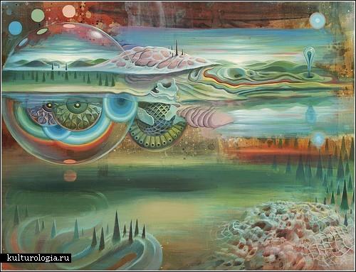 Психоделические космопейзажи художника Марио Мартинеза (Mario Martinez) aka MARS-1