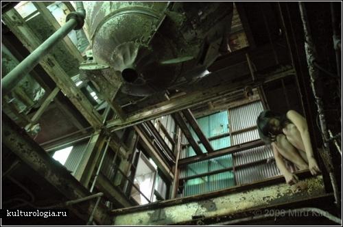 Голые на развалинах заводов фото фото 54-75