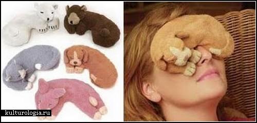 *Сонные маски*. Креатив для любителей подремать в свое удовольствие