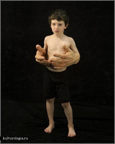 Скульптуры-мутанты. Автор Нина Леви (Nina Levy)