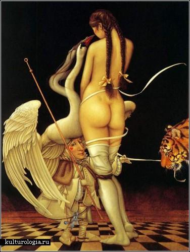 Картины Майкла Паркеса (Michael Parkes), пронизанные философией Востока