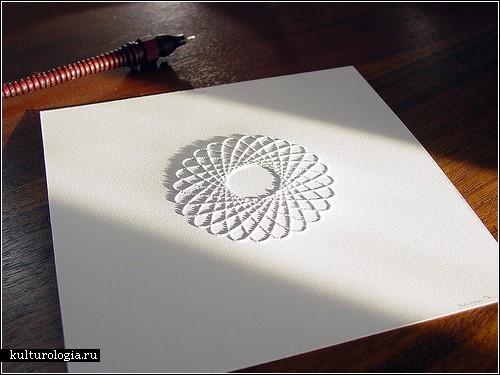 Pinhole art. Искусство *прошивать* бумагу