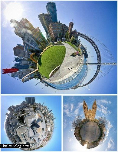 Рукотворные планеты фотографов-фантастов