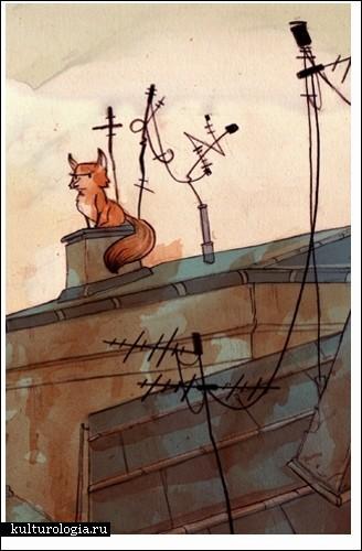Наивные и ненавязчивые иллюстрации Рэя Ортеги (Rey Ortega)