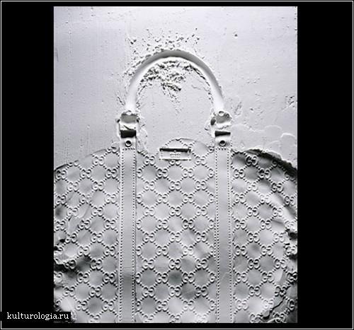*Следы на песке*. Фотопроект Митчелла Фейнберга (Mitchell Feinberg)