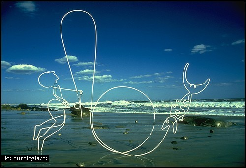 Искусство, созданное из прямой линии. Обзор