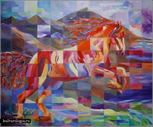 *Квадратный арт* голландского художника Роберта Доэсбурга (Robert Doesburg)