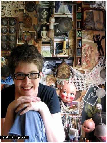 Анатомические роботы-dollhouses Сюзанны Скотт (Suzanna Scott)