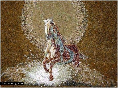 Картины из песка, ракушек и морской гальки. Автор - Светлана Иванченко (Днепропетровск)