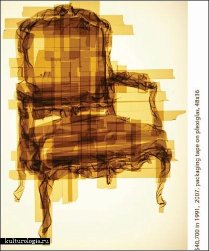 Tape art Марка Хайсмана (Mark Khaisman). Картины из упаковочного скотча
