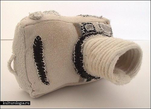 Милые штучки из старых носков. Автор - Neta